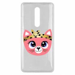 Чехол для Xiaomi Mi9T Cat pink