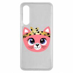 Чехол для Xiaomi Mi9 SE Cat pink