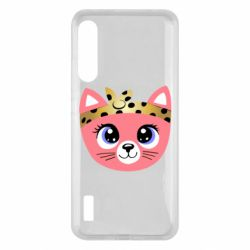 Чохол для Xiaomi Mi A3 Cat pink