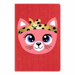 Блокнот А5 Cat pink