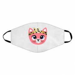Маска для лица Cat pink