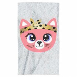 Полотенце Cat pink