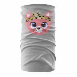 Бандана-труба Cat pink