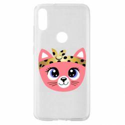 Чехол для Xiaomi Mi Play Cat pink