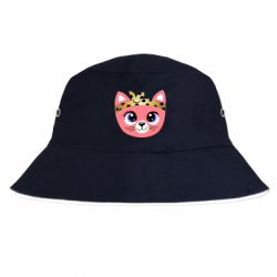 Панама Cat pink