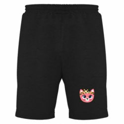 Мужские шорты Cat pink