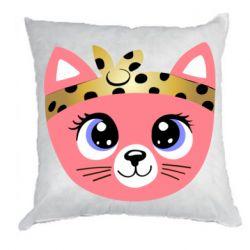 Подушка Cat pink