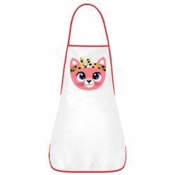 Фартук Cat pink