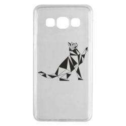 Чохол для Samsung A3 2015 Cat polygon