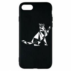 Чохол для iPhone 7 Cat polygon