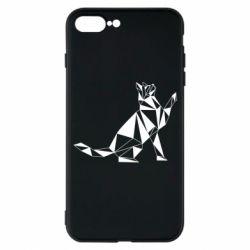 Чохол для iPhone 7 Plus Cat polygon