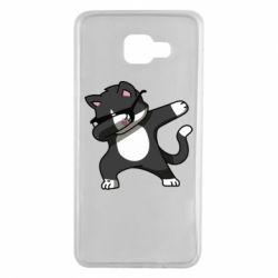 Чохол для Samsung A7 2016 Cat SWAG