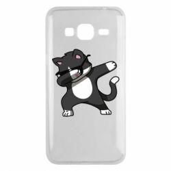 Чохол для Samsung J3 2016 Cat SWAG