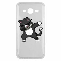 Чохол для Samsung J5 2015 Cat SWAG