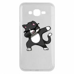 Чохол для Samsung J7 2015 Cat SWAG