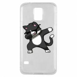 Чохол для Samsung S5 Cat SWAG