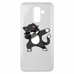 Чохол для Samsung J8 2018 Cat SWAG