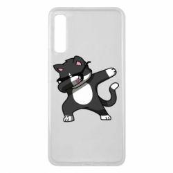 Чохол для Samsung A7 2018 Cat SWAG