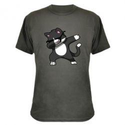 Камуфляжна футболка Cat SWAG