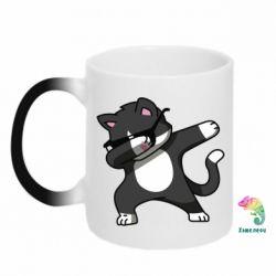 Кружка-хамелеон Cat SWAG
