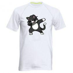 Чоловіча спортивна футболка Cat SWAG