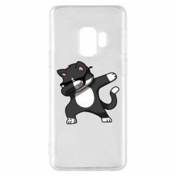 Чохол для Samsung S9 Cat SWAG