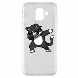 Чохол для Samsung A6 2018 Cat SWAG