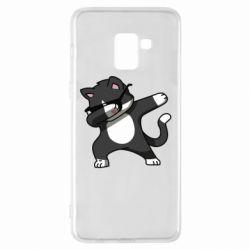 Чохол для Samsung A8+ 2018 Cat SWAG