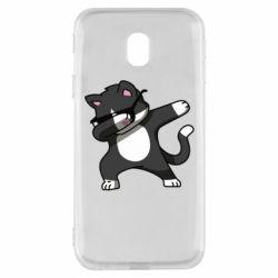 Чохол для Samsung J3 2017 Cat SWAG