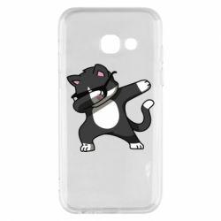Чохол для Samsung A3 2017 Cat SWAG