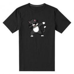 Чоловіча стрейчева футболка Cat SWAG