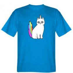 Мужская футболка Cat Unicorn
