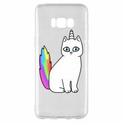 Чехол для Samsung S8+ Cat Unicorn