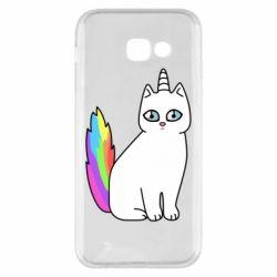 Чехол для Samsung A5 2017 Cat Unicorn