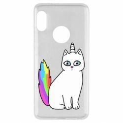 Чехол для Xiaomi Redmi Note 5 Cat Unicorn