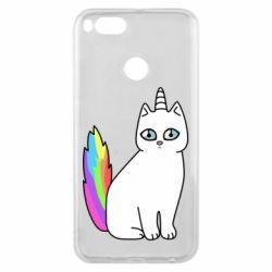 Чехол для Xiaomi Mi A1 Cat Unicorn