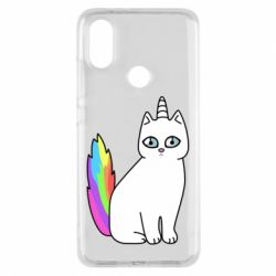 Чехол для Xiaomi Mi A2 Cat Unicorn