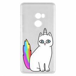 Чехол для Xiaomi Mi Mix 2 Cat Unicorn
