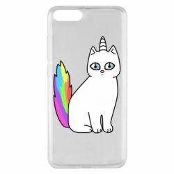 Чехол для Xiaomi Mi Note 3 Cat Unicorn