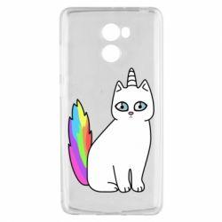 Чехол для Xiaomi Redmi 4 Cat Unicorn