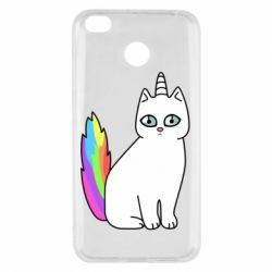 Чехол для Xiaomi Redmi 4x Cat Unicorn