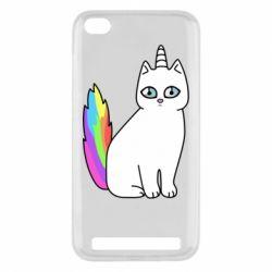Чехол для Xiaomi Redmi 5a Cat Unicorn