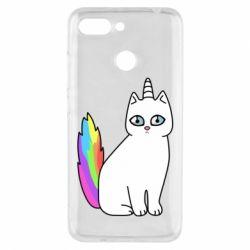 Чехол для Xiaomi Redmi 6 Cat Unicorn
