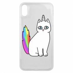 Чехол для iPhone Xs Max Cat Unicorn