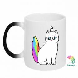 Кружка-хамелеон Cat Unicorn
