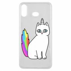 Чехол для Samsung A6s Cat Unicorn