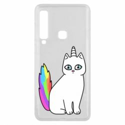 Чехол для Samsung A9 2018 Cat Unicorn