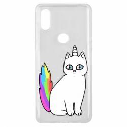Чехол для Xiaomi Mi Mix 3 Cat Unicorn