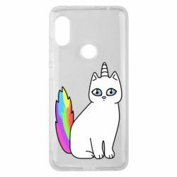Чехол для Xiaomi Redmi Note 6 Pro Cat Unicorn