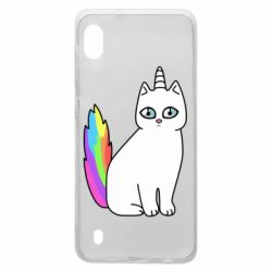 Чехол для Samsung A10 Cat Unicorn